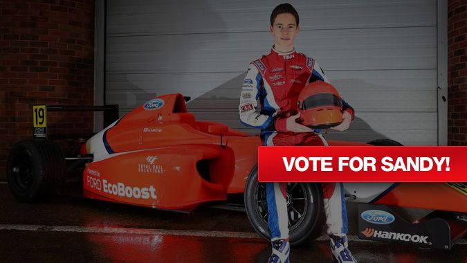 Vote for Stampede Sponsored Sandy Mitchell Racing